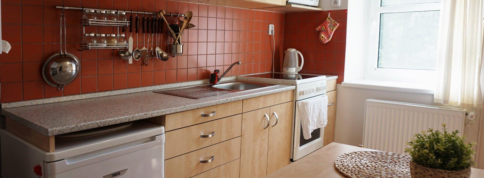 Pronájem slunného bytu 1+1, 36 m2 v centru města, Ev.č.: N48872