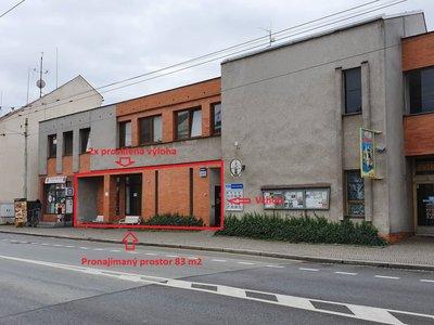 Pronájem, Obchodní prostory, 83m² - Lázně Bohdaneč