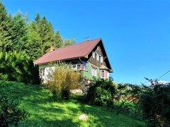 Prodej domu (chalupy) s větším pozemkem a navazujícím lesem, 3715 m² - Mladkov