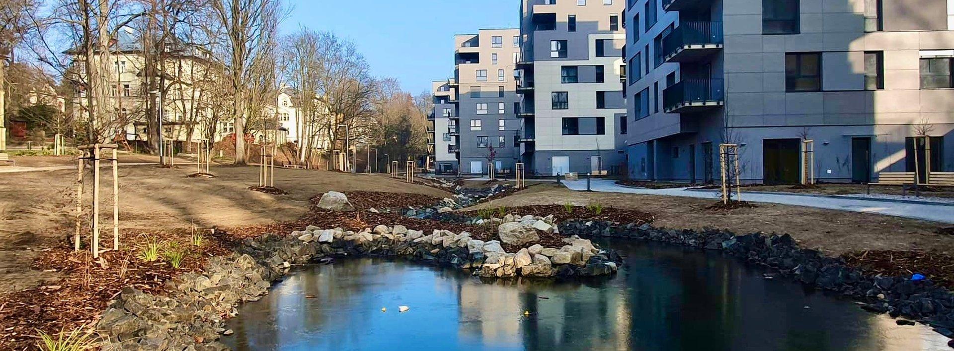 Pronájem bytu 2+kk, 45 m²  + parkovací místo - Liberec, Staré Město, ul. Vítězná, Ev.č.: N48941