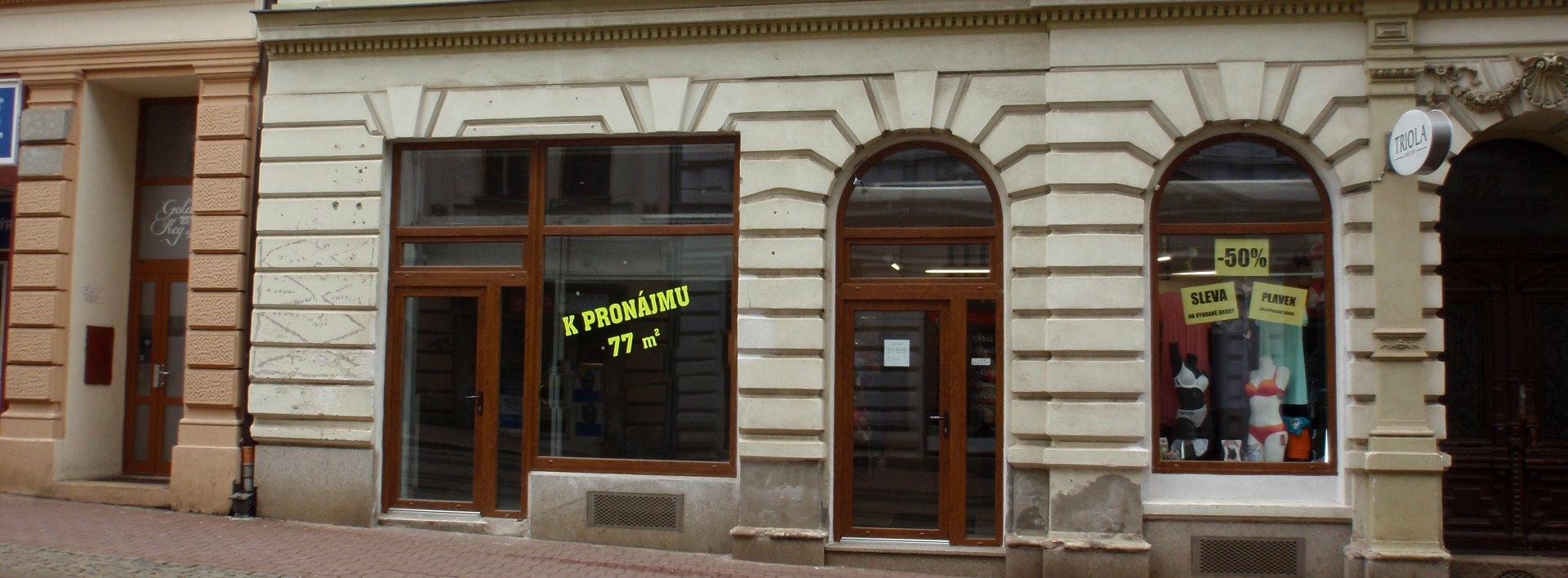 Pronájem, Obchodní prostory, 72 m² - ul. 5. května, Liberec I, Ev.č.: N48944