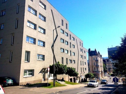 Pronájem bytu 1+kk s terasou v Liberci, ul. Lípová