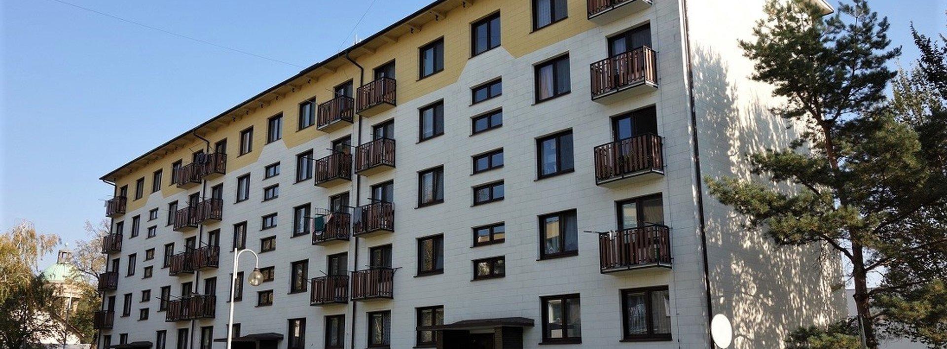 Pronájem bytu 1+1 s balkonem, 30 m² - Lázně Bohdaneč (Na Lužci), Ev.č.: N48989