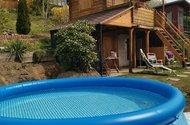 chatka + bazén