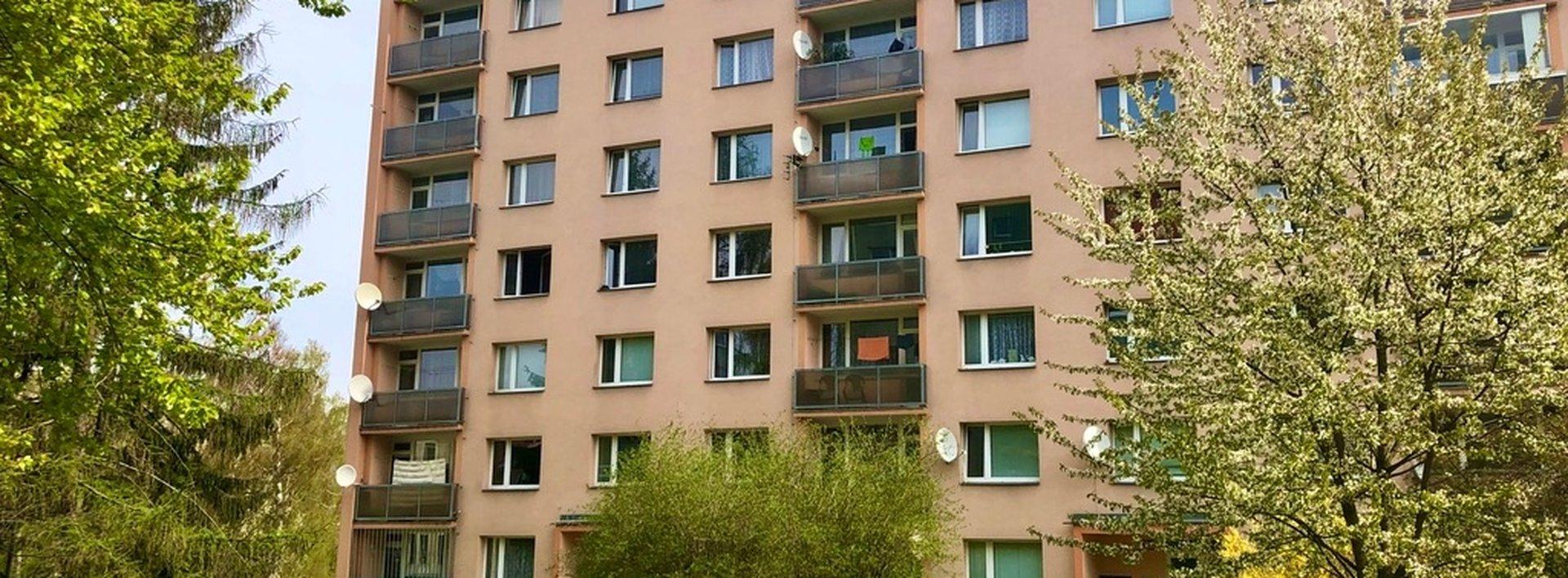 Pronájem bytu 2+1 s lodžií 60 m² - Liberec - Jeřáb, ul. Oldřichova, Ev.č.: N49039