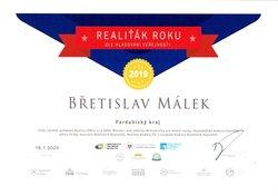 Málek_Diplom RR - 1mistoPardubický kraj_hlas_veřejnosti