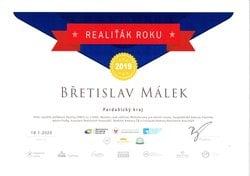 Málek_Diplom RR - 1mistoPardubický kraj