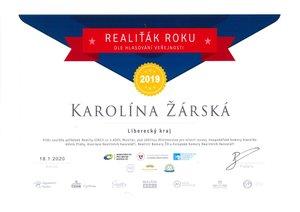 rská_Diplom RR - 1mistoLibercký kraj veřejnost