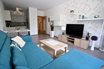 Pronájem, byt 2+kk, 50 m2 + lodžie 12 m², Uherské Hradiště, ulice Štěpnická