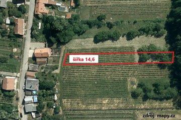 Prodej pozemků k výstavbě RD 1435 m² - Milovice