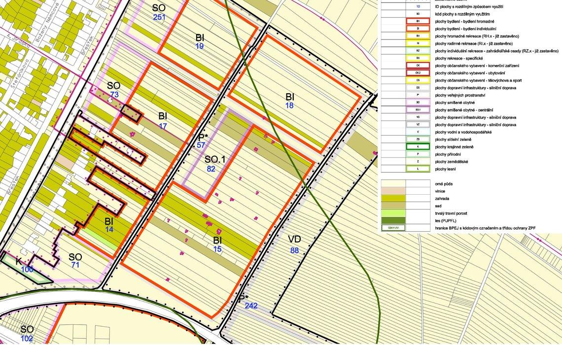 Územní plán 6 ZPF