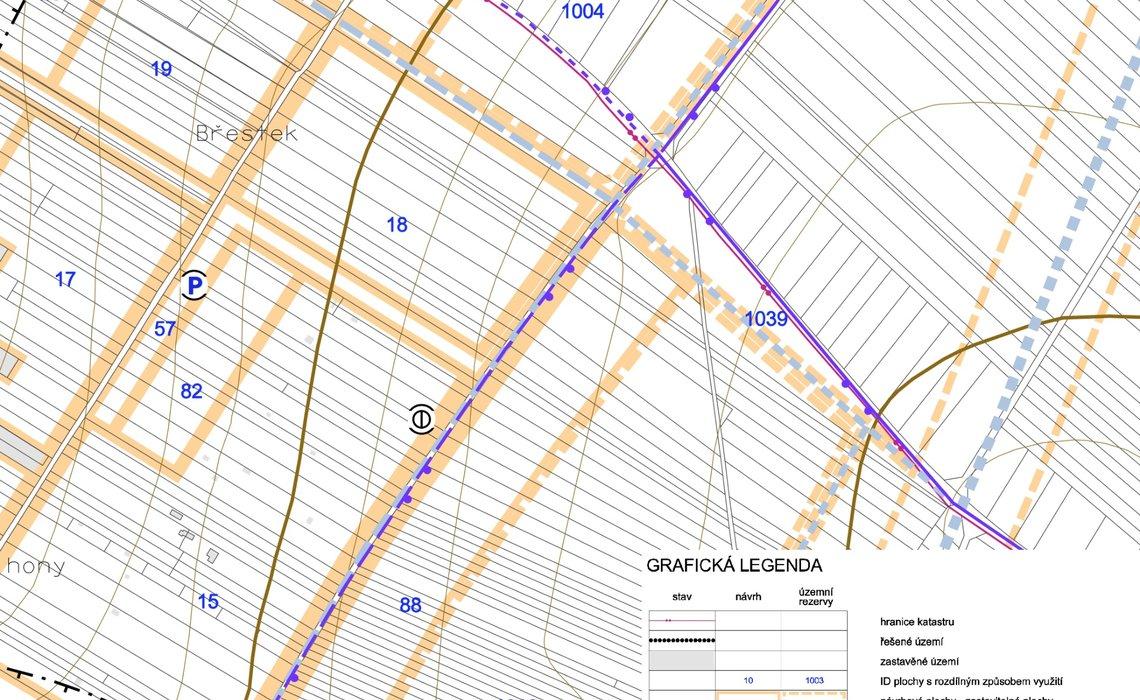 Územní plán 3