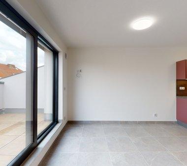 Pronájem bytu 2+kk s terasou, Brno - Žabovřesky
