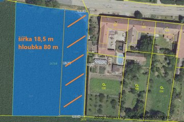 Prodej, Pozemky pro bydlení, 4579 m² - Troskotovice