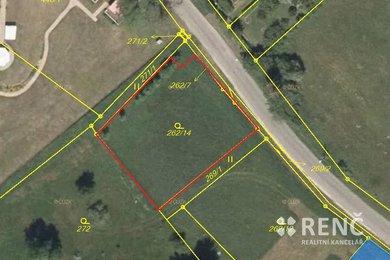 Prodej výjimečného stavebního pozemku v Nemojanech o velikosti 1101 m2 v blízkosti Nemojanského mlýna, Ev.č.: 00534
