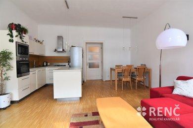 Prodej zděného bytu 3+kk (91 m2 + lodžie) v OV, ul. Veveří, Brno - střed, Ev.č.: 00588