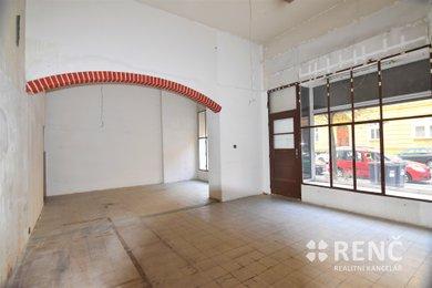 Pronájem kancelářského prostoru s výlohou, 61 m2 + galerie 10 m2 – Královo Pole, ul. Staňkova, Ev.č.: 00594