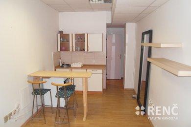 Pronájem bytu 1+kk Centrum, Bayerova, cihla, Ev.č.: 00702