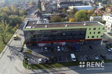 Pronájem nebytového prostoru  s 11 kancelářemi,  v novostavbě polyfunkčního domu na ul. Obřanská, Brno - Maloměřice, Ev.č.: 00730