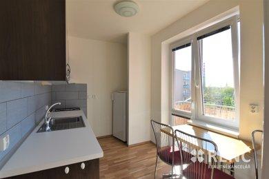 Zděný byt 1+1, 38,3 m2 + balkon, Brno - střed u Brněnského výstaviště, ul. Hlinky., Ev.č.: 00846
