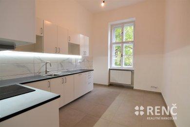Pronájem bytu 3+1 (117 m2+ balkon 2 m2 + sklep 8 m2) ul. Hilleho, Černá Pole u Lužáneckého parku, Ev.č.: 00864