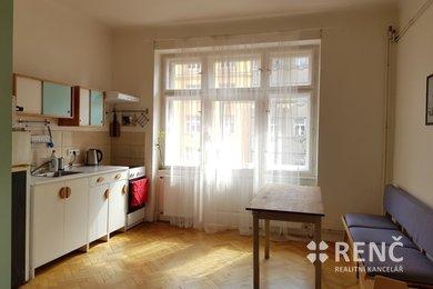 Pronájem bytu 2+kk v bezprostřední blízkosti centra města na ul. Kounicova, Ev.č.: 00804-1