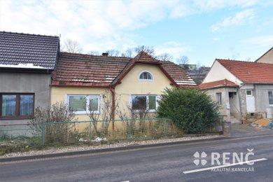 Prodej jednopodlažního koncového řadového rodinného domu s dvorem a zahradou na ulici Hybešova v Oslavanech, Brno - venkov, Ev.č.: 00906