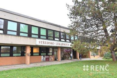 Kancelář nebo ordinace 21,4 m2 + zázemí 37 m2, Brno – Královo Pole, Palackého třída, Ev.č.: 00911