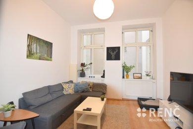 Pronájem bytu 2+1 o celkové ploše 64 m2 ve zrekonstruovaném bytovém domě na ulici Veselá v centru Brna, Ev.č.: 00950