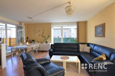 Pronájem bytu 4+kk, 101 m2 s terasou, dvěma balkony a možností nájmu parkovacího stání v Brně – Bystrci, na ul. Kavčí., Ev.č.: 00986