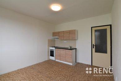 Pronájem bytu 1+1 (42 m2) s lodžií v Brně – Bystrci na ul. Rerychova, Ev.č.: 01013-1