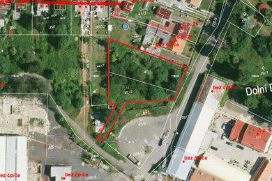 Prodej, Pozemky pro bydlení, 1461m² - Cheb - Dolní Dvory, Ev.č.: 01141