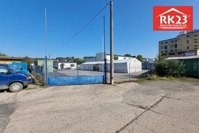 Pronájem, Pozemky pro komerční výstavbu, 893m² - Cheb, Ev.č.: 01240