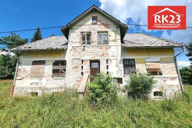 Prodej, Chalupa, 147m² - Lázně Kynžvart - Lazy, Ev.č.: 01334