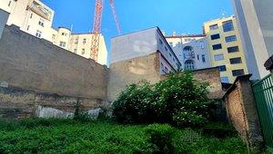 Prodej stavebního  pozemku o rozloze 639m²,  Praha Libeň