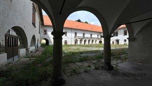 Prodej zámeckého areálu v Nové Bystřici, okres Jindřichův Hradec