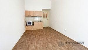 Pronájem bytu 1+kk, 32 m2, Praha 3 - Vinohrady