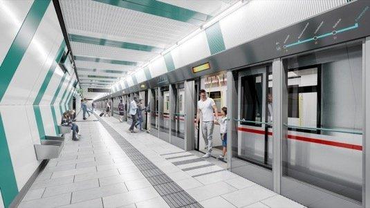 viden-metro-Vizualizace-stanice-U5-Frankhplatz
