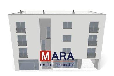 Pozemek pro výstavbu bytového domu 525 m² - Prostějov - Wolkerova, Ev.č.: 00527