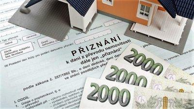 Daň z nabytí nemovitostí je zrušená