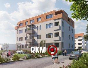 Novostavba bytu 2+kk 60,6m² ve Velkém Meziříčí