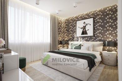 Prodej novostavby 1+kk s balkónem 5,5 m2  v Milovicích, Ev.č.: 2020103B