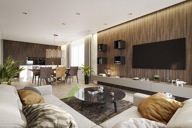 Prodej nového bytu 2+kk (57m2) se zahradou 103,5 m2, Milovice, Ev.č.: 2020102B