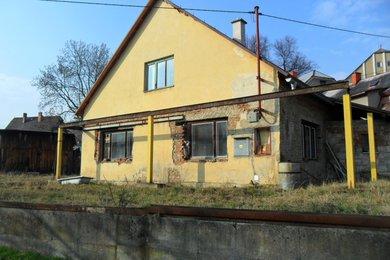 Prodeji rodinného dům 2+1, zahrada 500m2, obec Karlovice, okr. Bruntál., Ev.č.: 00017