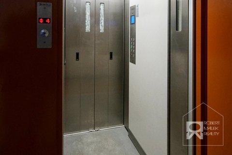 Nový výtah v domě