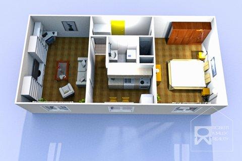Disposiční plánek bytu