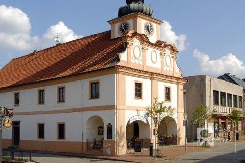 náměstí Stříbrná Skalice