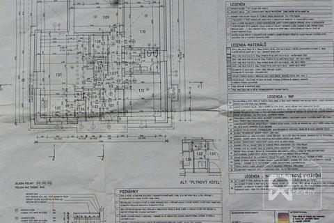 Plán domu přízemí