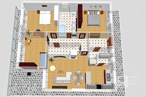 3D plánek domu
