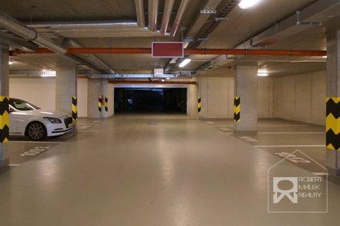 Vjezd do podzemních garáží